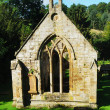 South facing belltower of Temple old church ruin 14th century — Stock Photo