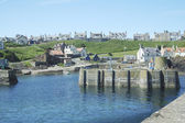Harbour at St. Abbs, Berwickshire — Stock Photo