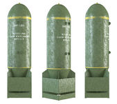 Vecchie bombe 3D set — Foto Stock