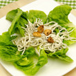 Salad of eels — Stock Photo