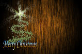 Christmas greeting card — Foto Stock