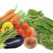 Mural of several vegetables — Stock Photo #14553247