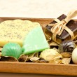 Stock Photo: Scented soaps