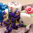 Cake decorated — Stockfoto