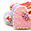 Valentine cookies — Stock Photo