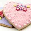 Stock Photo: Valentine cookies