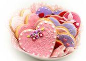 Valentine cookies — Stock Photo