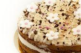 Zdobione ciasto — Zdjęcie stockowe