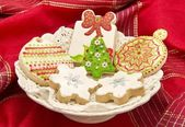 Cookies decorated — Stock Photo