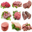 Mural various meats — Stock Photo #21723003
