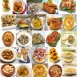Mural of Spanish dishes — Stock Photo #21726239