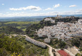 Casares with fields — Stock Photo