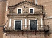 Balkon alaejos církve — Stock fotografie