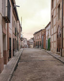 Street of Alaejos — Stock Photo