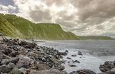 岩のビーチ — ストック写真