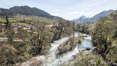 Sella river — Stockfoto