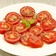 Sliced ??tomatoes — Stock Photo