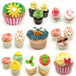 Mural of several cupcakes — Stock Photo #30597987