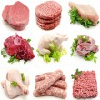 Mural various meats — Stock Photo #31860517