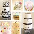 Mural of various cakes — Stock Photo #31860699