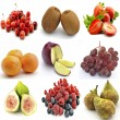 Mural of several fruits — Stock Photo #31861263