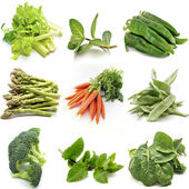 Mural of several vegetables — Stock Photo