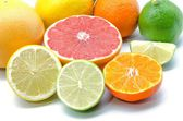 Assortment of citrus — Stock Photo