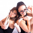 Linda and Anna — Stockfoto