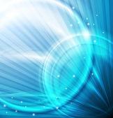 Modré pozadí abstraktní — Stock vektor