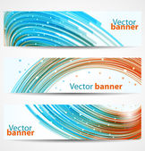 Abstract banners or headers — Stock Vector