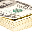 Royalty-Free Stock Photo: A bundle of 100 dollar bills