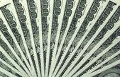 100 dollar bills — Stock Photo