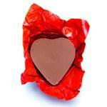 Chocolate hearts — Stock Photo #24979741