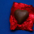 Chocolate heart — Foto Stock #30420403