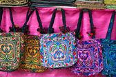 Tribal handicraft bags — Stock Photo