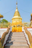 Thai temple Doi Suthep — Stock Photo