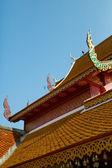 Buddhist thai temple. — Stock Photo