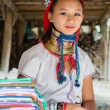 Stock Photo: Womof karen tribe
