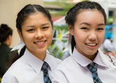 Two thai girls — Stock Photo