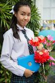 étudiante fille thaïlandaise — Photo