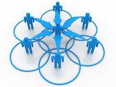 ビジネス ネットワーク — ストック写真