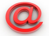 E-mail-anmeldung — Stockfoto