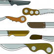 Stock Vector: Knifes clipart