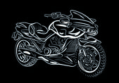 Motorcycle 2 — Vector de stock