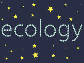 Ecology 1 — Vettoriale Stock