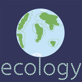 Ecology 2 — Vettoriale Stock