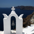 Bell tower of church at Santorini,Greece — Stock Photo