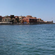 Stock Photo: Panoramwith light house in Chania, Crete (Greece)