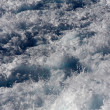 Texture of the sea in a storm - Stock Photo