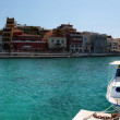 Stock Photo: Panoramof Agios Nikolaos. Crete, Greece